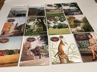 Lincolnshire Life Magazines 1976 Complete Year