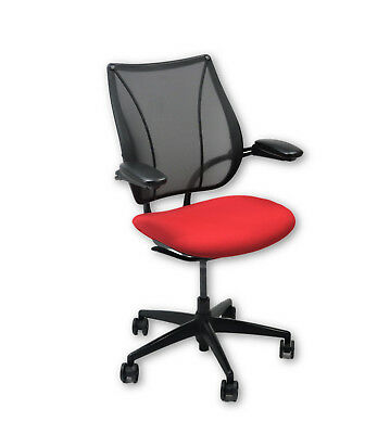 Humanscale Liberty Task Chair in new Red Fabric