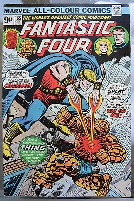 Fantastic Four. *6* Bronze Age issues. #165, 166, 168, 169, 171, 172.