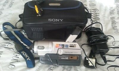 Sony Handycam CCD-TRV108 Video Hi8 Hi 8 Camcorder Player Video Transfer Camera