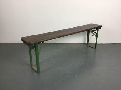 Old Rustic Vintage Wooden Beer Biergarten Garden Table Customised Length #2272
