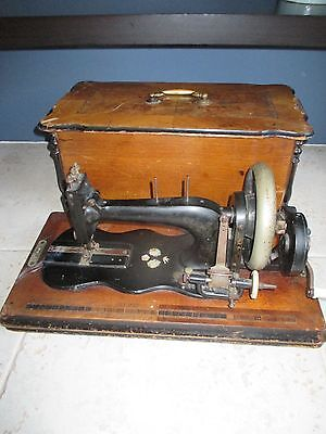 Antique German Singer 12K clone sewing machine to restore late 20th century