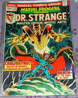 Marvel Premiere 14 with Dr. Strange March 1974 from Marvel Comics