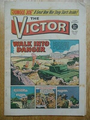 Vintage The Victor Comic No. 568 Jan. 8th, 1972