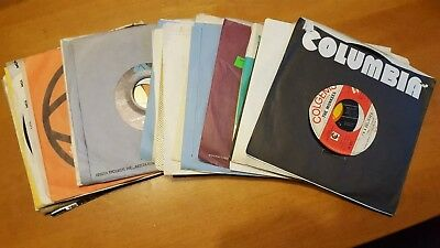 """Awesome Lot Of 21 45Rpm Records-  Vinyl- Records Jukebox- 7"""" 45Rpm"""