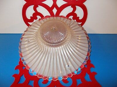 Vintage Glass Round Dome Ceiling Lamp Globe