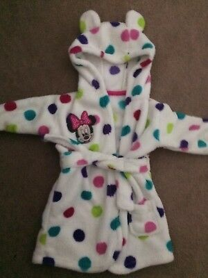 Girls Dressing Gown 6-12 Months