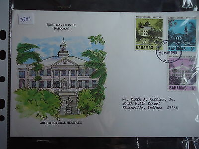 bahamas first day cover 1978 architectural heritage
