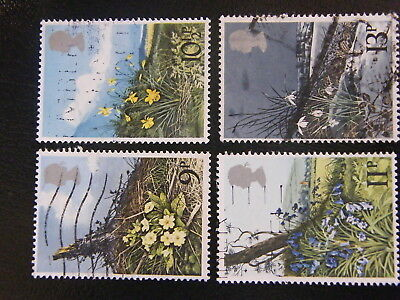 1979 - Spring Wild Flowers - used set