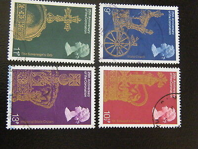 1978 - 25th Ann of Coronation - used set