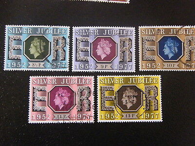 1977 - Silver Jubilee - used set