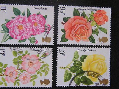 1976 - Rose Society - used set