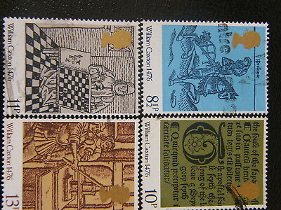 1976 - British Priniting Anniv  - used set