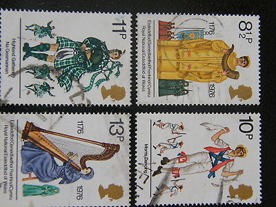 1976 - British Cultural Traditions - used set