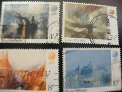 1975 - Turner Paintings - used set