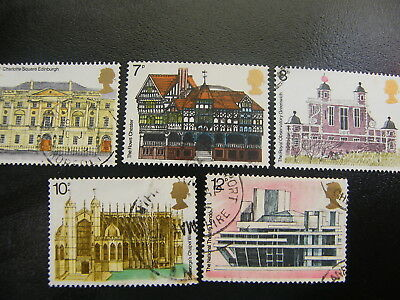 1975 - European Architectural Heritage Year - used set