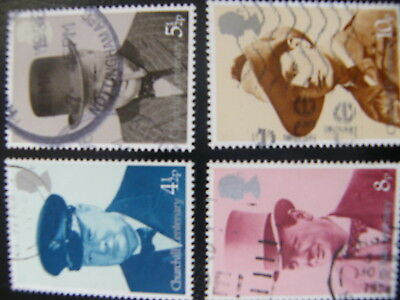 1974 - Winston Churchill - used set