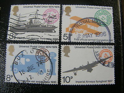 1974 - Universal Postal Union - used set