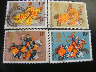 1974 - Medieval Warriors - used set