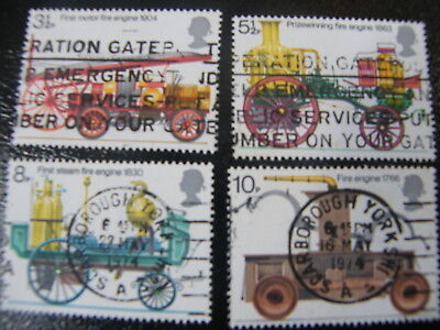 1974 - Fire Prevention - used set