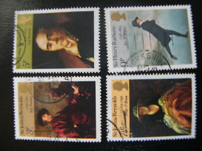 1973 - British Paintings - used set