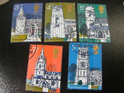 1972 - Village Churches - used set