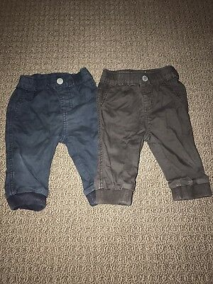 Country Road Baby Boy Chino Pants x2 Size 0