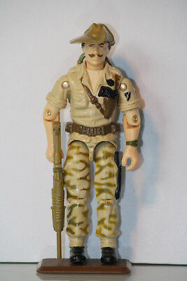 GI G.I. Joe gijoe 1984 Recondo regular OLIVE green Camo 100% complete C - 9 -
