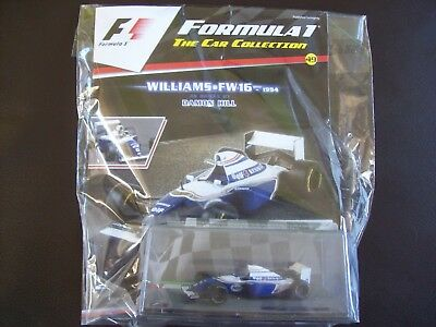 Formula 1 The Car Collection Part 49 Williams FW16 1994 Damon Hill