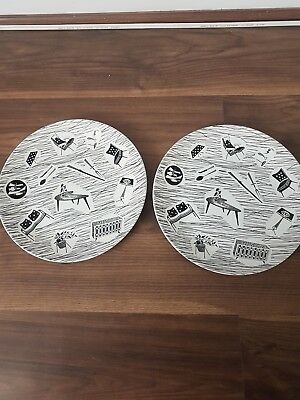 "2 RIDGWAY HOMEMAKER 10""/25.5cm Dinner PLATES"