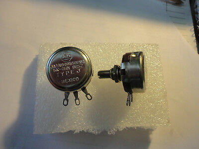 "2Pcs Allen Bradley 5K Linear  Type ""j"" Potentiometer"