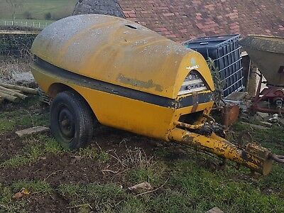 Hydrovane Air Compressor, Diesel, Twin Outlet, For Spares / Repair