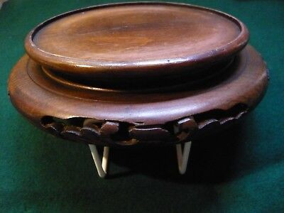 Chinese pot stand. Large size. c.1900.