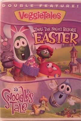 NEW VeggieTales Double Feature: Twas the Night Before Easter & A Snoodle's Tale