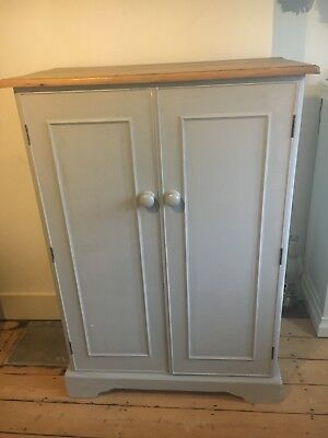 antique Victorian combination wardrobe
