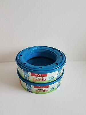 Lot of 2, New Playtex Brand - DIAPER GENIE 270-Count Refill Rings (540 total)