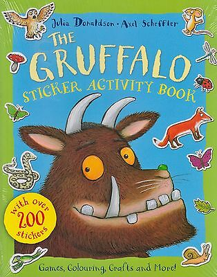 The Gruffalo Sticker Activity Book by Julia Donaldson NEW BOOK (Paperback, 2013)