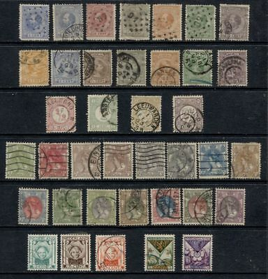 Netherlands *************** Pre-1930 Used Collection ************* Cat. $75
