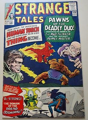 18-C0372: Strange Tales # 125, 1964, VF 8.0! More WHITE pages!!!