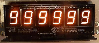 6-Digit Replacement Display Kit for Bally/Stern Pinballs - Orange digits