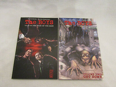 The Boys volumes 1 & 2 graphic novels - Garth Ennis