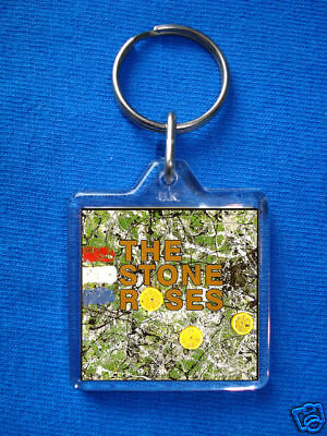 The Stone Roses- Stone Roses Keyring Ian Brown