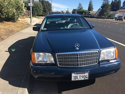 1992 Mercedes-Benz 400-Series Blue 1992 Mercedes Benz 400 SE