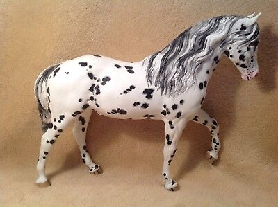"BREYER "" EL PASTOR..LEOPARD APPALOOSA...MOLD #61.."" Custom hand painted by Ernie"