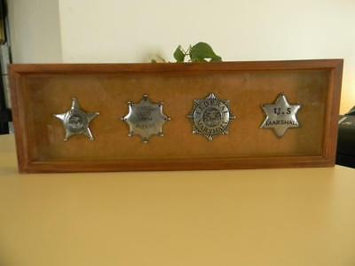 Reproduction Vintage Western Law Enforcement Badges Marshall Sheriff Ranger