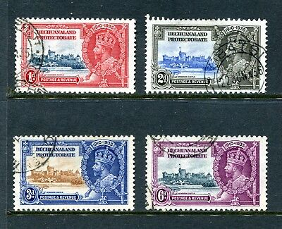 Bechuanaland Protectorate: 1935 Silver Jubilee Set of 4 SG111-14 Fine Used BE273