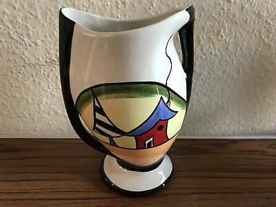 Lorna Bailey Twin Handled Vase - Porthill Design