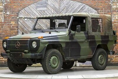 1990 Mercedes-Benz G-Class 250GD Wolf 1990 250 GD New Off-Road Multi Ply Tires Camouflage Locking Diffs Granny Crawl