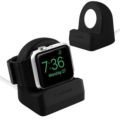 Apple Watch Series 1 2 3 iPhone Charging Dock Station Charger Stand Nightstand