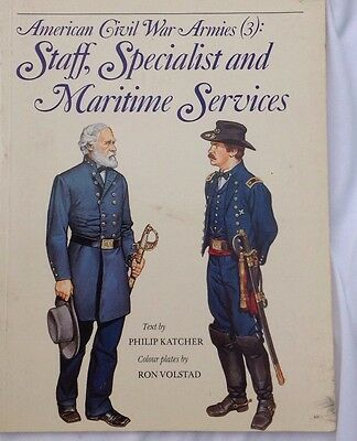 The American Civil War Men At War Staff Specialist And Maritime Services